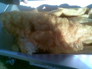 Takeaway fish & chips
