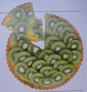 Kiwi tart