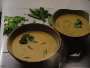 Thai red lentil soup
