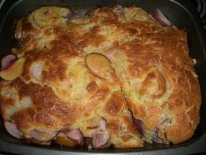 A big square omelette