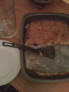 Grapple (and swoon) for pudding cake