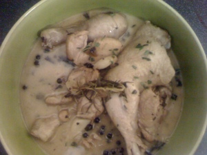 Chicken with rickets and anaemia