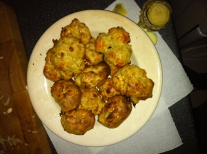 Spiced swede poogeres